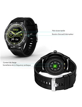 MONTRE CONNECTEE COMPATIBLE IOS&ANDROID